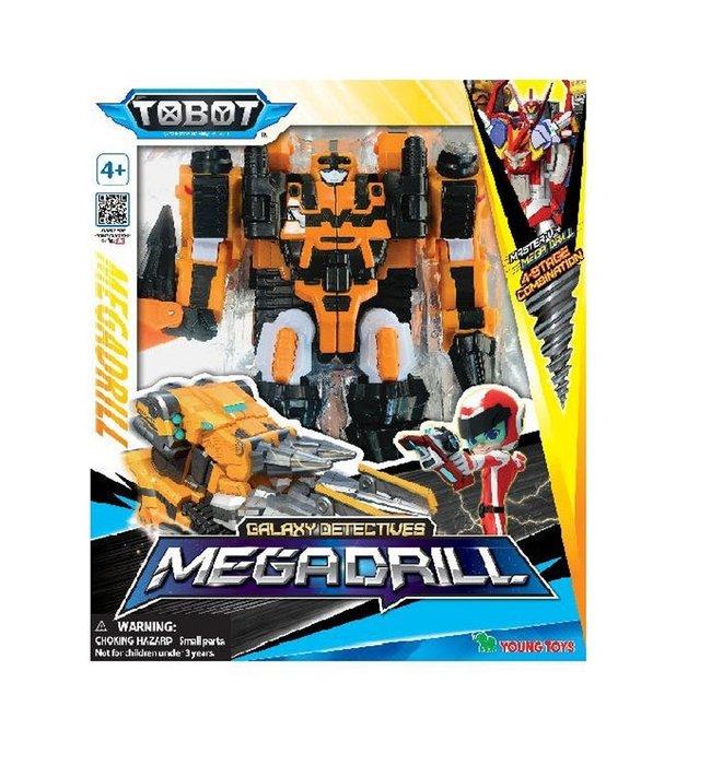佳佳玩具 ---- 正版授權 機器戰士 TOBOT GD 宇宙奇兵 鑽頭 變形機器人【053092787】