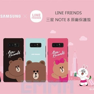 --庫米--{三星原廠}LINE FRIENDS SMART PHONE CASE SAMSUNG 三星 NOTE 8