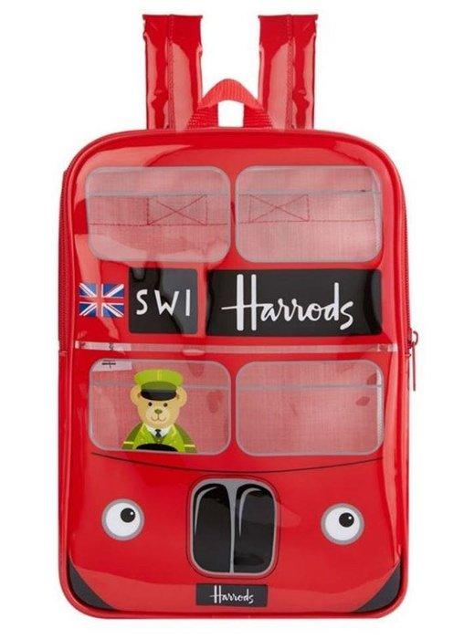 🇬🇧英國高端百貨公司 Harrods 限定英國巴士兒童後背包