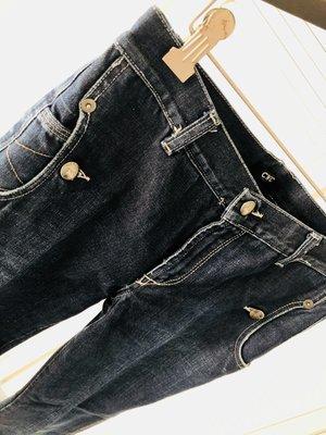 CNC 重磅深藍牛仔褲