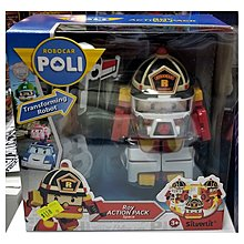 正版 救援小英雄波力 可變身機械人(連工具) Robocar Poli Transforming Robot - Space Roy (約5吋高)