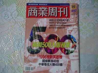 商業周刊 497期1997.6.2~6.8 《兩個女法官要告連方瑀》 書況為實品拍攝,如新(如圖)【M8.3】