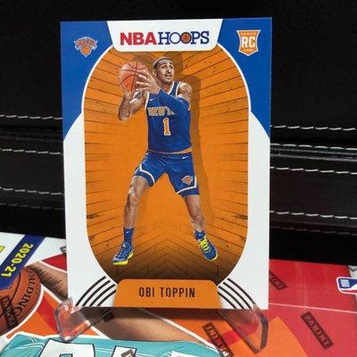 值得投資 2020-21 Panini NBA Hoops #226 OBI TOPPIN RC ROOKIE CARD RC