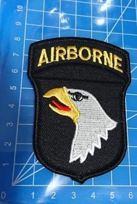 刺繡臂章-101ST AIR BORNE老鷹3