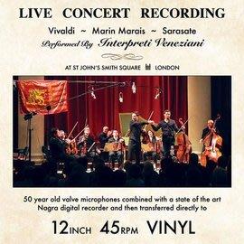 Vivaldi, Marais, & Sarasate Live Concert Recording 180g LP