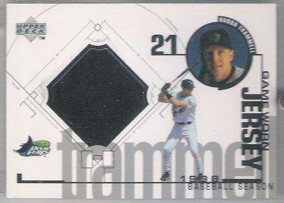 1999 Upper Deck  BUBBA TRAMMELL  球衣卡 SP