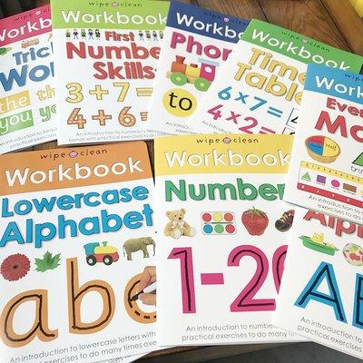 團兒童可擦寫練習冊wipe clean workbook托班幼兒園啟蒙訓練2歲
