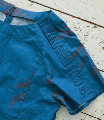 |The Dood Life|FIL DE FER アガベプリント ラウンドネックブラウス / 秋日的龍舌蘭 襯衫