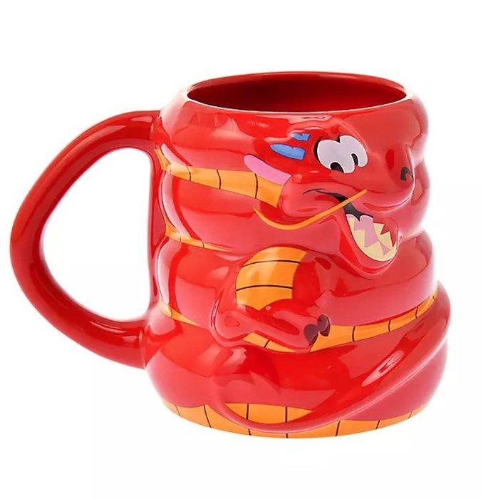 《FOS》日本 迪士尼 可愛 木須龍 馬克杯 花木蘭 Disney 可愛 兒童 孩童 玩具 禮物 熱銷 2020新款