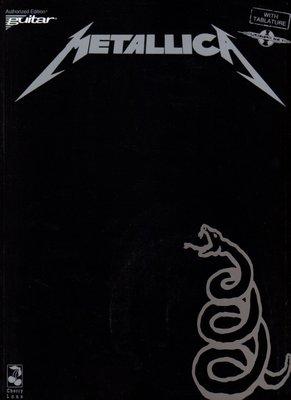 [ 反拍樂器 ] Metallica Black Album Guitar 金屬製品 吉他樂譜