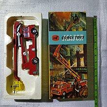 1960's Corgi Toys - 1/43 scale - Simon Snorkel Fire Engine No.1127  懷舊玩具 火警 消防車