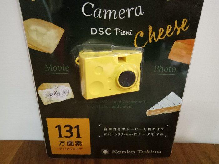 天使熊雜貨小舖~日本帶回DSC Pieni 131萬畫素可愛數位迷你相機-起司款  全新現貨