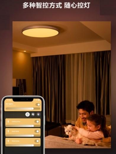 PHILIPS 飛利浦 HUE 睿夕 智能 餐廳吊燈 45077 LED 52W 可調光色雙重光源 app智控 智能家居
