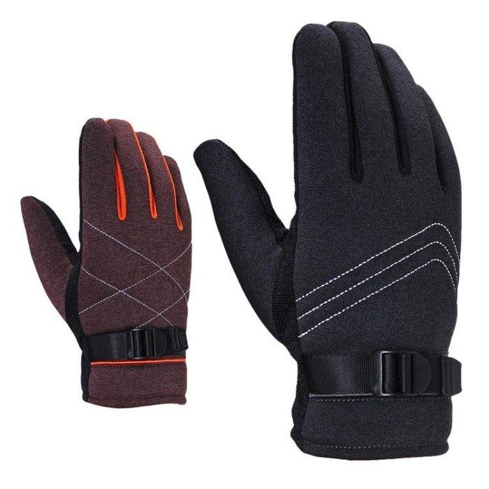 男手套 戶外運動手套 男士手套冬季戶外保暖棉手套觸屏手套騎行手套yx612