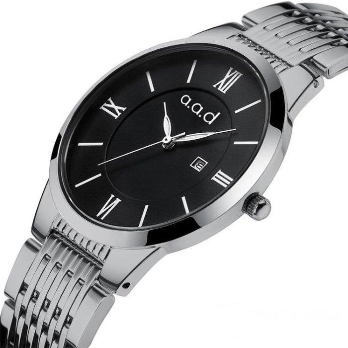 對錶 情侶防水夜光對錶石英非機械錶