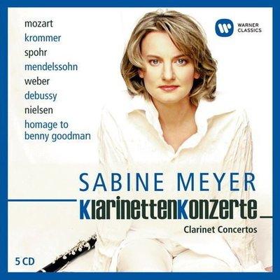 莎賓梅耶─單簧管協奏曲終極精選 5CD 〈限量盤〉/ 拉圖、阿巴多(指揮)---825646262205