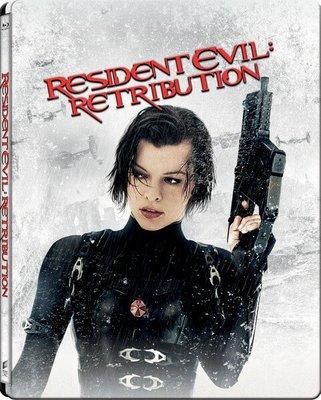 毛毛小舖--藍光BD 惡靈古堡5:天譴日 3D+2D限量鐵盒版 Resident Evil: Retribution