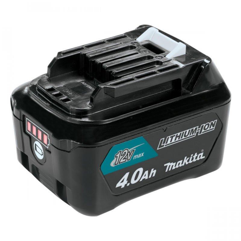 電筒魔  MAKITA 牧田 12V 4.0Ah 鋰電池電量顯示 滑軌式 BL1041B