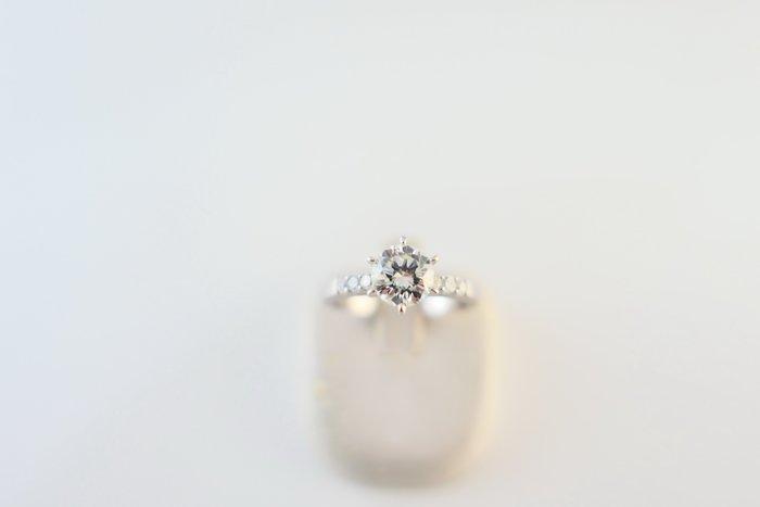 [吉宏精品交流中心]1.01克拉 南非天然鑽石 白金台 造型 戒指 鑽戒