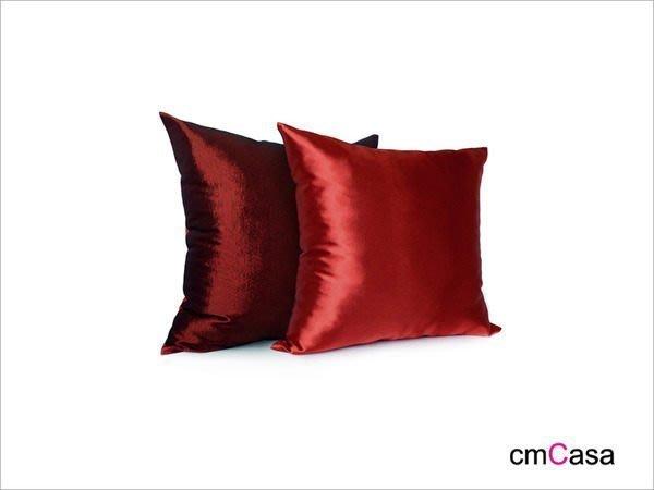 = cmCasa = [3998]新古典視覺設計 梅莎絲滑緞雙面抱枕套 一枕雙風格多尺寸新發行