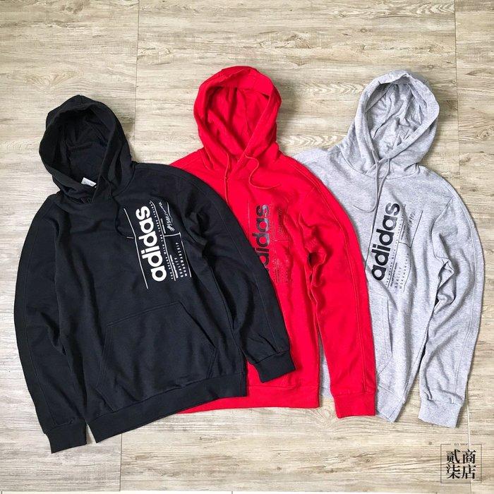 (貳柒商店) adidas BB Hoodie 男款 帽T 連帽 黑 FM6017 紅 FQ7993 灰 FM6091