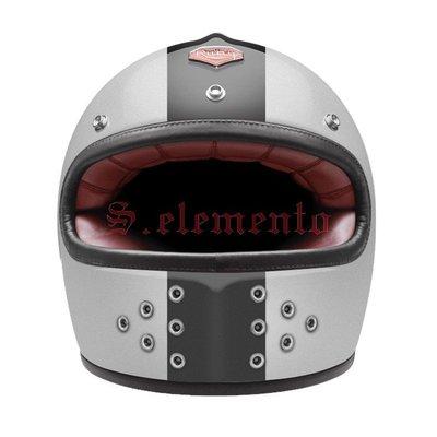 【預購優惠】Ateliers Ruby 安全帽 Castel ECE Vega 碳纖維 全罩 復古帽