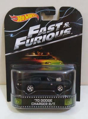 Hotwheels : Fast & Furious 狂野時速 '70 Dodge Charger RT (Real Riders)