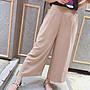 現貨  韓組 麻紗寬褲,材質涼爽,版型優,彈性大,褲腰鬆緊頭,有喜歡請把握,現貨黑2,下標前先詢問,Rita Clothes。
