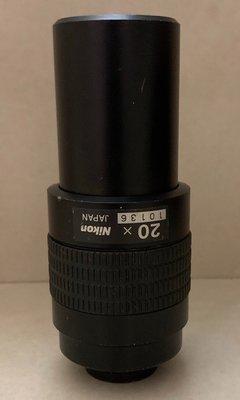 【專業中古顯微鏡】Nikon 20x 物鏡 MM400/MM800 工具顯微鏡專用