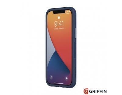 Griffin Survivor Endurance iPhone 12 Pro 6.1吋 海軍藍 軍規抗菌霧透防摔殼