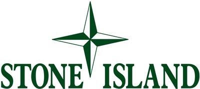 Stone Island 綠 LOGO 橫幅 3m防水貼紙 尺寸120x30mm