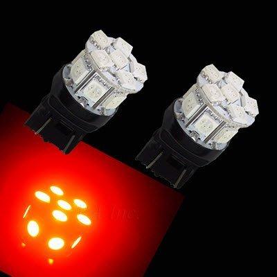 【PA LED】迷你版 T20 7443 7440 13晶 39晶體 SMD LED 後霧燈 方向燈 角燈 煞車燈 紅光