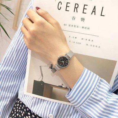 日和生活館 小錶盤手錶女學生韓版簡約INS風潮流小清新百搭ULZZANG復古文藝S686