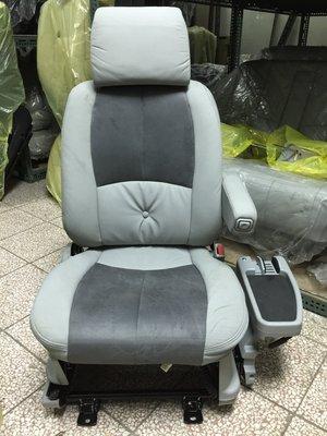 @中華三菱MITSUBISHI@SPACE GEAR~史貝斯基~全新原廠右前座椅~灰色皮椅