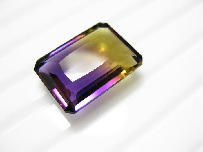 【Texture & Nobleness 低調與奢華】天然無處理 招財運 開智慧 紫黃晶 - 20.5克拉