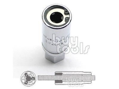 台灣工具-《專業級》四分無頭螺絲套筒、雙螺牙螺絲套筒、滾針緊迫式套筒、13~16mm 每顆售價、適用四分棘輪板手「含稅」