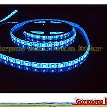 高亮三晶5050 單色滴膠防水燈條IP65 12v 300顆LED燈珠/5米 櫃檯燈 藏光燈帶 造景燈 藍色