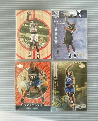 NBA KEVIN GARNETT x4