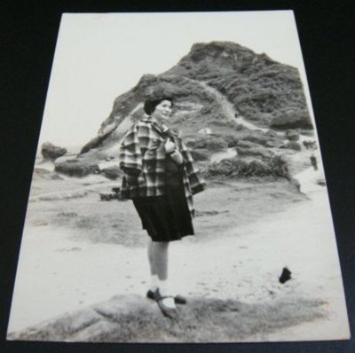 【早期老照片】民國60年代 基隆野柳風景區 6.5X9 公分