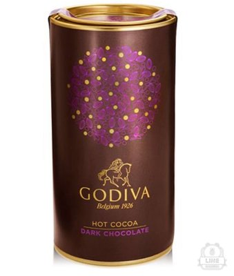 預購 美國專櫃GODIVA原味黑可可粉 巧克力粉 熱可可