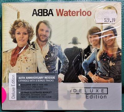 ABBA 阿巴合唱團 / Waterloo滑鐵盧 40週年CD+DVD 紀念盤【歐版全新未拆】
