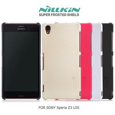 *PHONE寶*NILLKIN SONY Xperia Z3 L55 超級護盾硬質保護殼 抗指紋磨砂硬殼 保護套