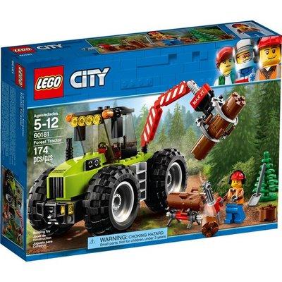 【晨芯樂高】60181 City 城市系列Forest Tractor