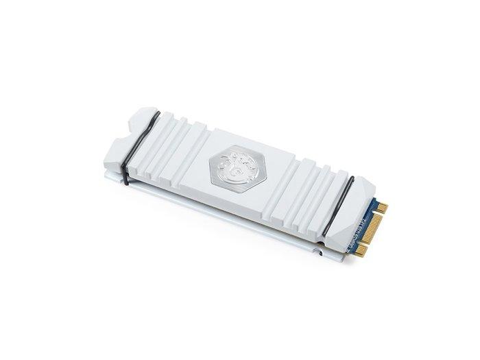光華CUMA散熱精品*Bitspower BP-HDM2HS AV-WH M.2 SSD 固態硬碟 散熱盔甲 白色~現貨