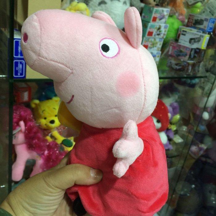 日本 佩佩豬 西瓜 粉紅豬小妹 喬治豬 媽媽豬 爸爸豬 娃娃 玩偶 日本空運~小太陽日本精品