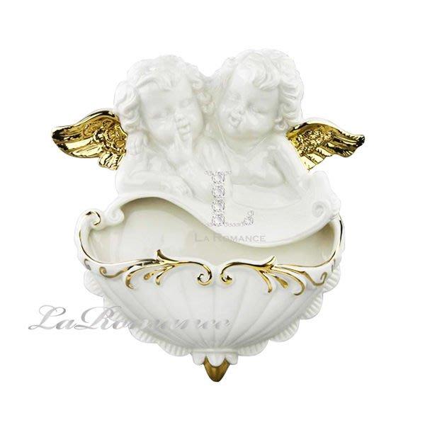 【芮洛蔓 La Romance】COCORO 兒童家飾 - 12吋純潔天使壁掛 A / 掛飾 / 壁飾