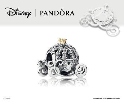 ☆ PANDORA ☆ Disney, Cinderella's Pumpkin Coach 791573CZ
