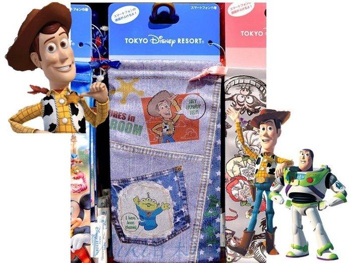 *Miki日本小舖*日本東京迪士尼TOY STORY 玩具總動員 防刮可擦拭手機袋束口袋