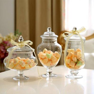 玻璃罐 烘培 糖果罐 甜點 婚禮佈置 收納瓶 餅乾 糖果 點心 餐廳 咖啡廳 candy bar 蛋糕 儲物罐 帶蓋