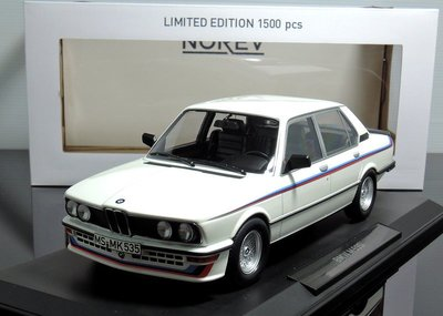 【MASH】現貨瘋狂價 Norev 1/18 BMW M535i E12 1980 white